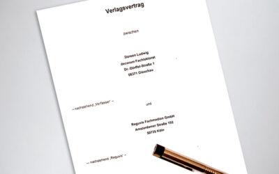 Neuer Autorenvertrag: 2021 erscheint weiteres Fachbuch