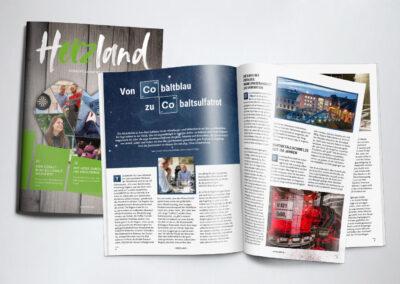 Geschichten ERZählen. Im hERZland-Magazin.