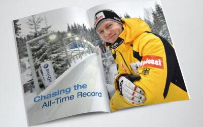 Sportreportage: Auf der Jagd nach dem ewigen Rekord